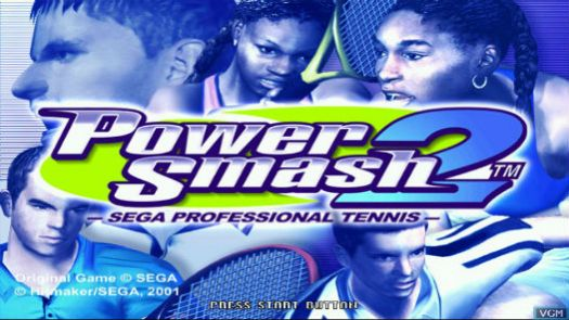 Virtua Tennis 2 ~ Power Smash 2 (Rev A)