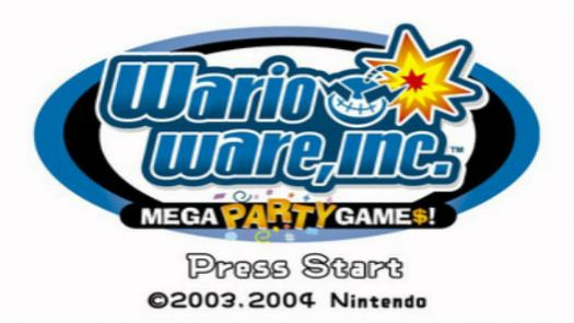 WarioWare Inc. Mega Party Game