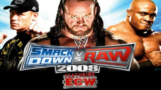 WWE SmackDown! Vs. Raw 2008 Featuring ECW (K)