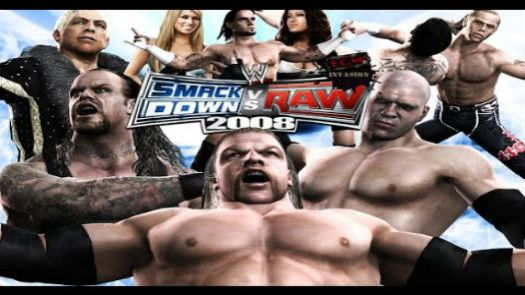 WWE SmackDown! vs. RAW 2008 featuring ECW (Europe) (v1.01)