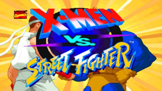 X-MEN VS. STREET FIGHTER (USA) (CLONE)