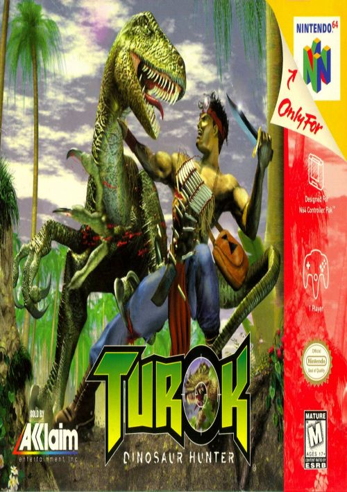 download turok dinosaur hunter for nintendo 64 gamulator