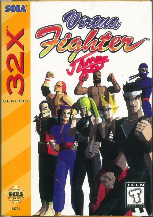 Virtua Fighter ROM Download for Sega 32X | Gamulator