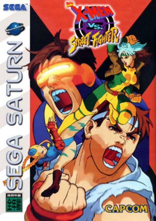 X-Men Vs Street Fighter (J) ROM Download for Sega Saturn
