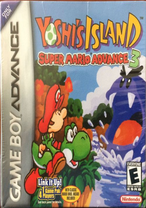 Yoshi's Island - Super Mario Advance 3 ROM Download for GBA