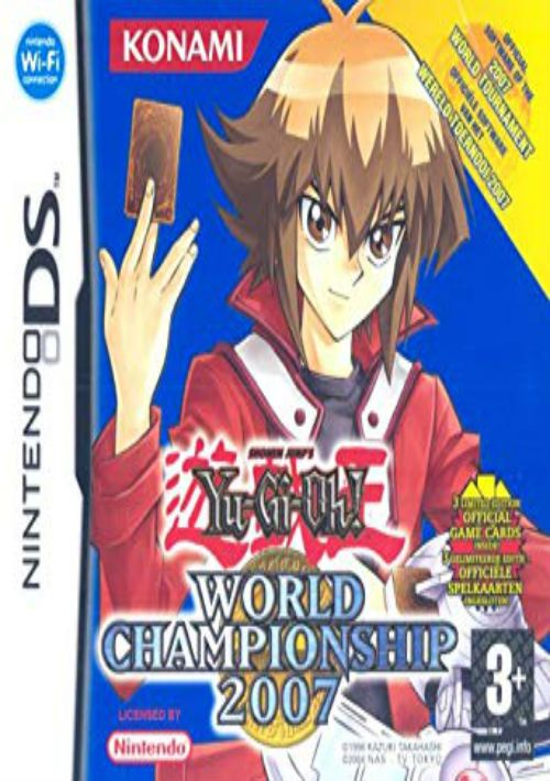 yugioh duel monsters world championship 2007 j rom