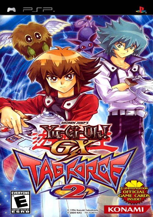 Resultado de imagen para Yu-Gi-Oh! GX Tag Force 2 psp cover